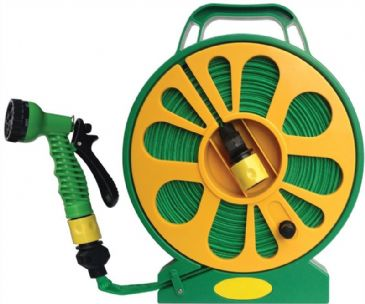 Streetwize Superflat Hose 15m Reel On A Cassette